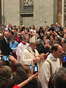 Pope Francis on Christmas Eve 2014